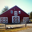 The Runyon Barn by Jane Neill-Hancock