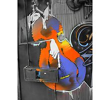 Street Art 1 (The Musician) Photographic Print