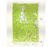 USGS Topo Map Washington State WA Newport 242811 1936 125000 Poster