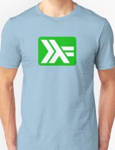 haskell (white on green) T-Shirt