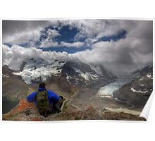 Glacial View! Poster