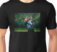 Tiger Woods painting 2 Unisex T-Shirt
