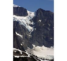 glacial flow on mt shuksan, washington, usa Photographic Print