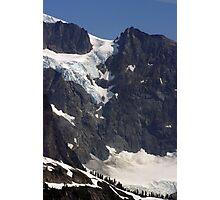 glacial flow on mt shuksan, washington, usa Photographic Print