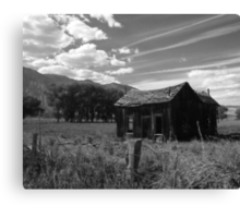 My Old House Another Perspective Canvas Print