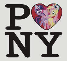 I Love Pony (aka I Heart NY) by J Leone