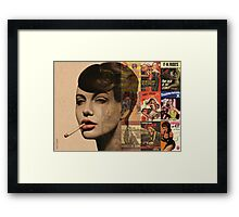 LES PULPS FRANCAISES Framed Print