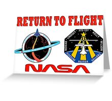Return to Flight of the Space Shuttle! Greeting Card