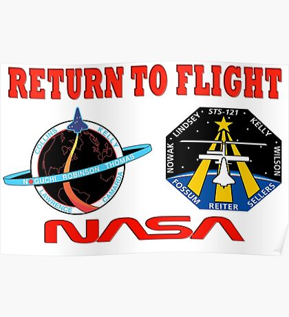 Return to Flight of the Space Shuttle! Poster