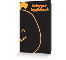 Pumpkin Tot. Greeting Card