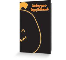 Pumpkin Tot. Greeting Card