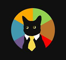 Business Cat (Stained Glass Window) Unisex T-Shirt