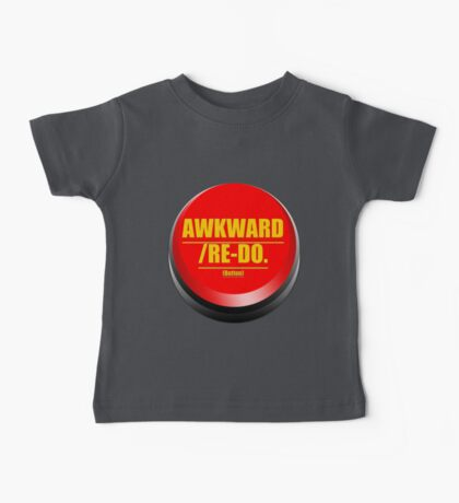 Awkward/ Re-do. Button Baby Tee