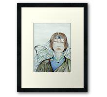 Aine - Fairy of Summer Framed Print