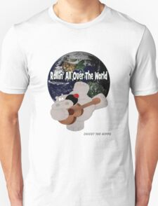 Hippo Rollin All Over The World T-Shirt