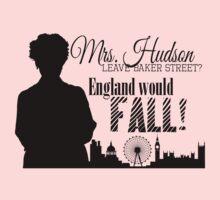 Sherlock - Mrs. Hudson Leave Baker St? (Black)  by rideqhs