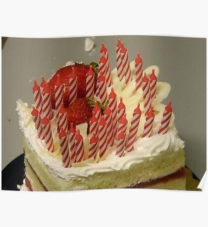 The Birthday Cake! Poster