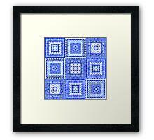 Italian Tile Framed Print