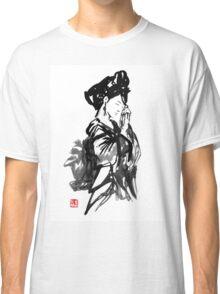 thinking geisha Classic T-Shirt