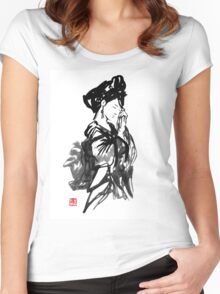 thinking geisha Women's Fitted Scoop T-Shirt