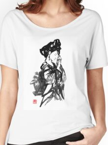 thinking geisha Women's Relaxed Fit T-Shirt