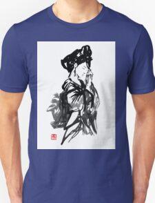thinking geisha Unisex T-Shirt