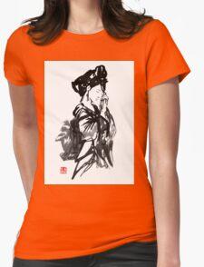 thinking geisha Womens Fitted T-Shirt