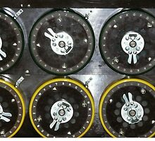 Bletchley Park Dials by Woodie