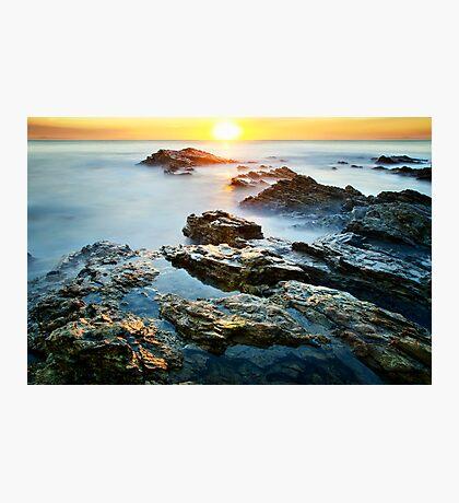 Horizontal Sunset Photographic Print