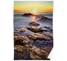 Sunset Corona Vertical Poster