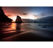 Cathedral Cove, Coromandel, New Zealand Photographic Print