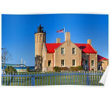 Old Mackinac Point Lighthouse Poster