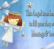 An Angel card  by Ann12art