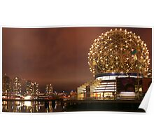Science World at night Poster