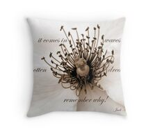 It Comes In Waves~~ Throw Pillow