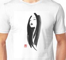 japanese woman Unisex T-Shirt