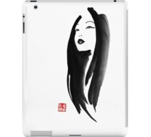 japanese woman iPad Case/Skin