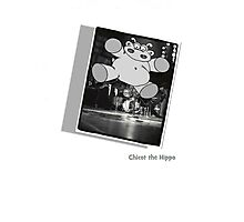 Chicot the Hippo Live On Stage Photographic Print