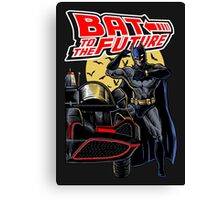 Bat To The Future Canvas Print