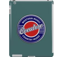 Overdose Western & Country Music iPad Case/Skin
