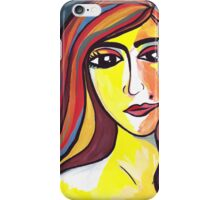 Fauvism Woman iPhone Case/Skin
