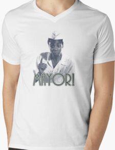 MAYOR! Mens V-Neck T-Shirt