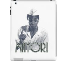 MAYOR! iPad Case/Skin