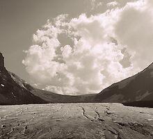 Athabasca Glacier  by stevefinn77