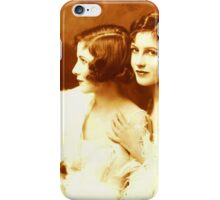 Two Beautiful Ladies Vintage photo iPhone Case/Skin