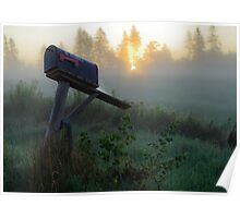 Morning Mailbox Poster