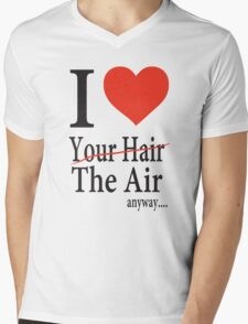 Dr. Horrible Freeze Ray love your hair Mens V-Neck T-Shirt