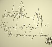 Hogwarts by Courtney Hubley