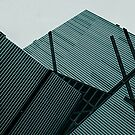 Angles Cyan by artkitecture