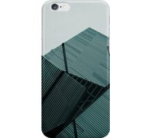 Angles Cyan iPhone Case/Skin